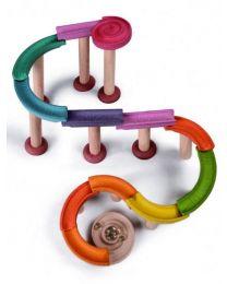 Plan Toys - Marble Run-Deluxe - Circuit de billes en bois