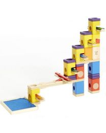 Hape - Quadrilla - Music Motion - Circuit de billes en bois