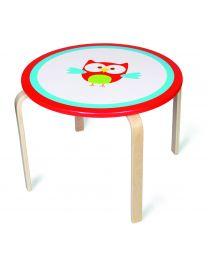 Scratch - Table pour enfants Hibou Lou