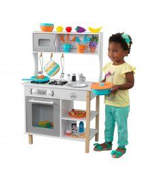 Kidkraft - Cuisine pour enfants En Bois All Time Avec Accessoires