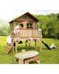 Axi - Maisonnette en bois pour enfants Sophie