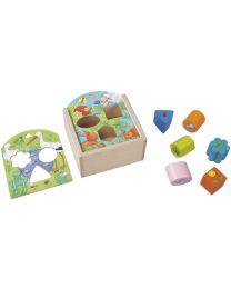 Haba - Boîte à Formes Animaux - Mes premiers jeux