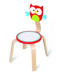 Scratch - Chaise pour enfants Hibou Lou