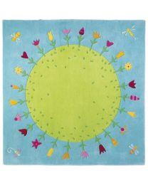 Haba - Planète Fleurie - Tapis pour enfants - 150x150cm