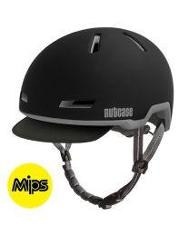 Nutcase - Tracer Minuit Noir Mips Mat - S/M - Casque de vélo (52-56 cm)