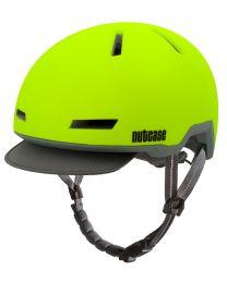 Nutcase Tracer Spark Jaune Mat - S/M - Casque de vélo (52-56 cm)