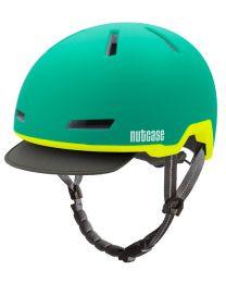 Nutcase Tracer Vert Mat - M/L - Casque de vélo (56-60 cm)