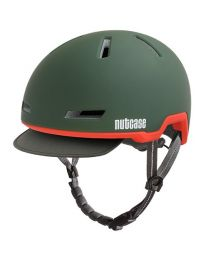 Nutcase Tracer Cascade Vert Mat - S/M - Casque de vélo (52-56 cm)