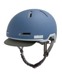 Nutcase Tracer Storm Bleu Mat - S/M - Casque de vélo (52-56 cm)