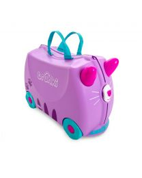 Trunki - Cassie Le Chat - Ride-on et valise de voyage - Rose