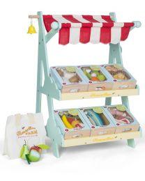 Le Toy Van - Marché Honeybee - Cuisine pour enfants en bois