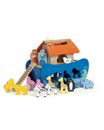Le Toy Van - L'arche de Noé - Ensemble de jeu en bois