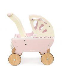 Le Toy Van - Landau en bois - Rose