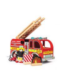 Le Toy Van - Camion de Pompiers - Ensemble de jeu en bois