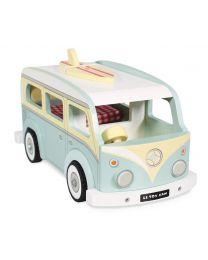 Le Toy Van - Camping Car - Ensemble de jeu en bois