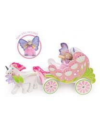 Le Toy Van - Carrosse & Licorne de Fairybelle - Ensemble de jeu en bois