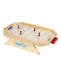 Weykick - Jeu de hockey sur glace octogonal en bois - Modèle 8500