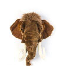 Wild & Soft - Trophée mammouth Arthur - Tête d'animal