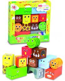 Vilac - Cubes en bois sonores La savane